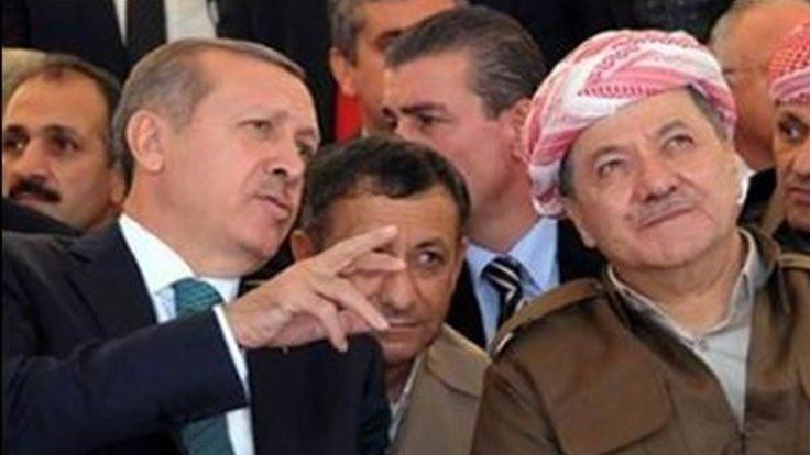 Financial Times: Erdoğan Barzani'den vazgeçemez