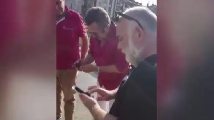 Erkan Can kaza yaptı