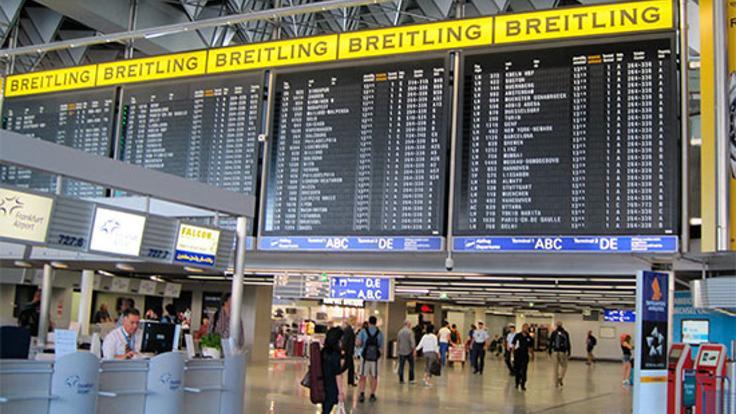 Frankfurt Havaalanı'nda  gaz saldırısı