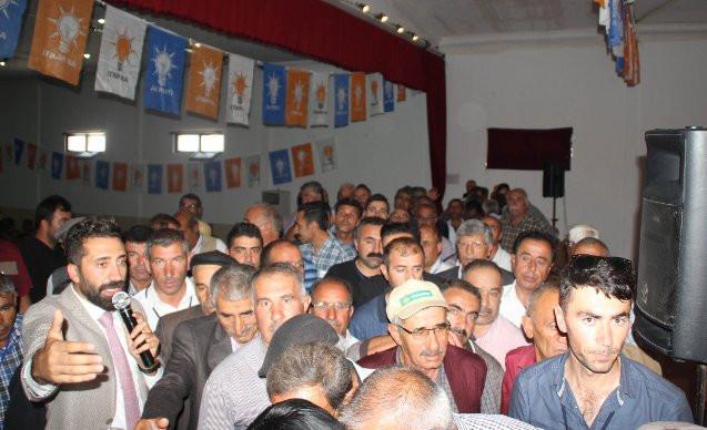 AK Parti ilçe kongresinde 'tek liste' gerginliği