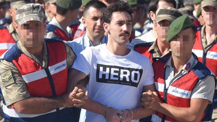 'Cezaevi 'Hero' tişörtüne sorun olmaz dedi'