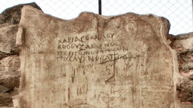 Antik duvarların dili