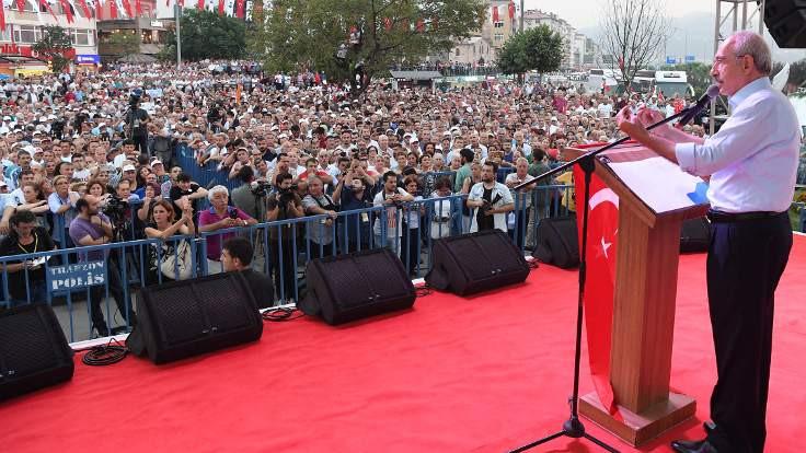 Kılıçdaroğlu: Suriyeli 1. Karadenizli 2. sınıf