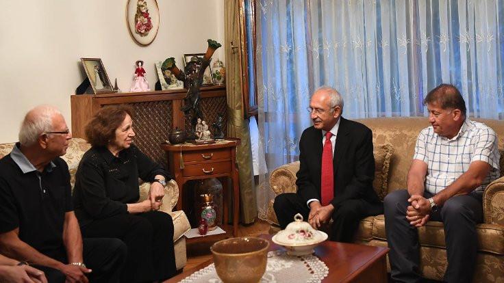 Kılıçdaroğlu, Emin Özdemir'in ailesini ziyaret etti