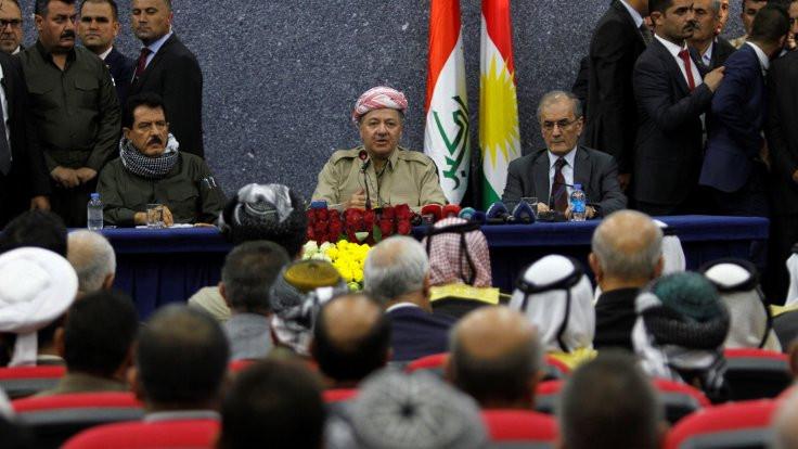 Mesut Barzani'nin tarihsel anı