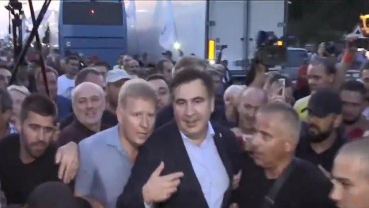 Sakaaşvili yasağı deldi, Ukrayna'ya döndü