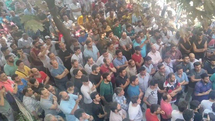Sayacılar Antep'te de greve çıktı