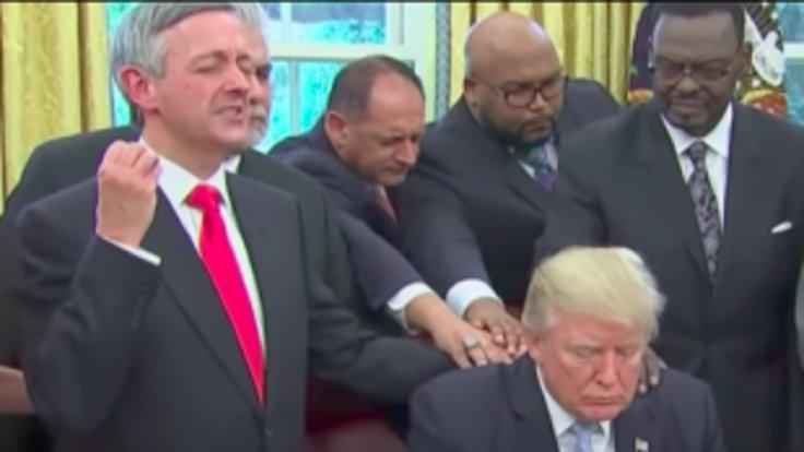 Sorun Trump değil onu Mesih yapan Evanjelistler