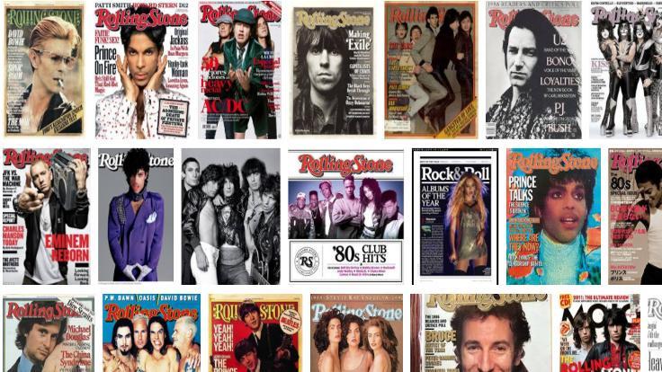 Rolling Stone dergisi satılıyor