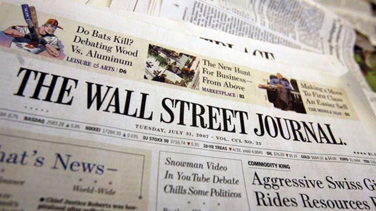 Wall Street Journal durdu!