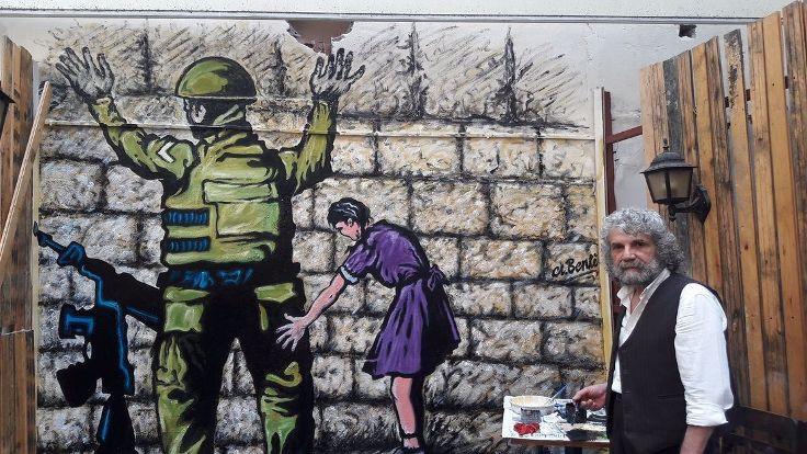 Sur'dan İstanbul'a bir ressam: 4 buçuk yıl direndim