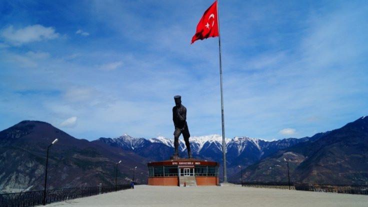 Atatürk anıtı turizme açıldı