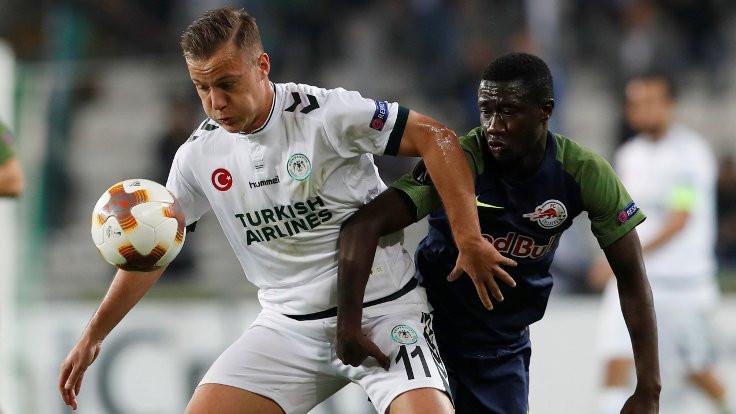 Atiker Konyaspor, Salzburg'a mağlup oldu
