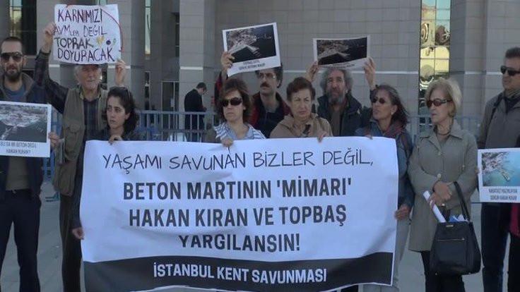 'Bizi değil, Topbaş ve Kıran'ı yargılayın'