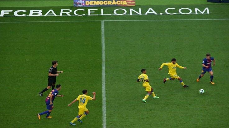 Barcelona Las Palmas maçı seyircisiz oynandı