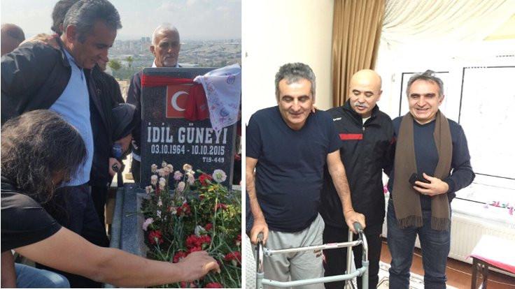 10 Ekim'de yaralanan Yavuz Demirkol: Her katliamda bizler yeniden öldük