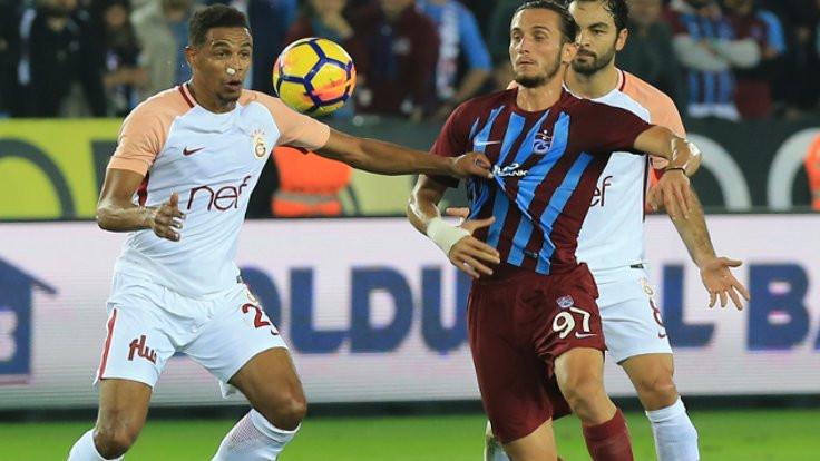 Trabzon'da 3 kırmızı kart, 3 gol