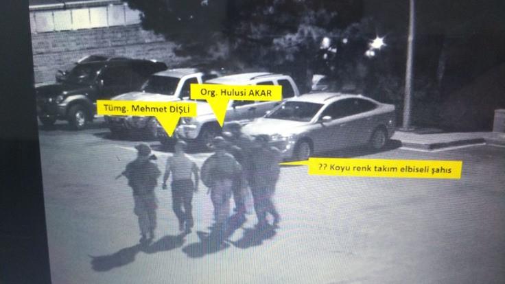 Hulusi Akar'ın helikoptere bindirilme anının görüntüleri ortaya çıktı