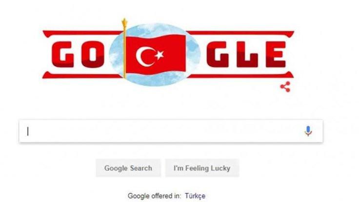 Cumhuriyete özel 'doodle'