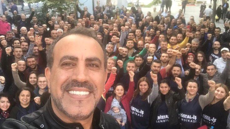 Haluk Levent'ten Şişecam işçilerine destek