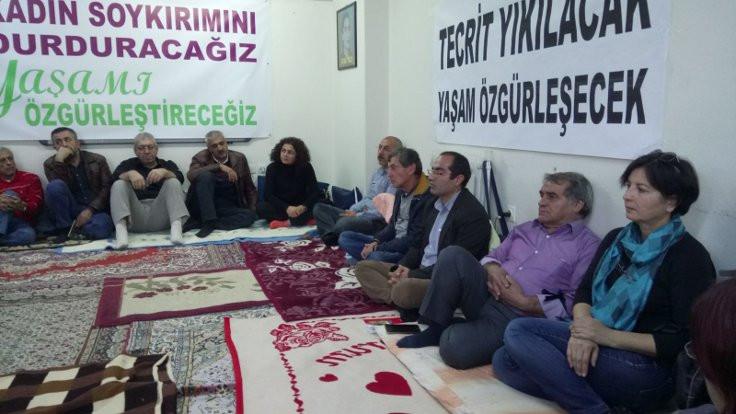 HDP'liler, Abdullah Öcalan'la görüşe izin verilmesi için açlık grevine başladı