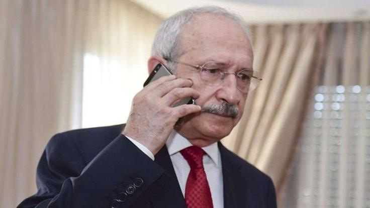 Kılıçdaroğlu'ndan Özakça'ya telefon