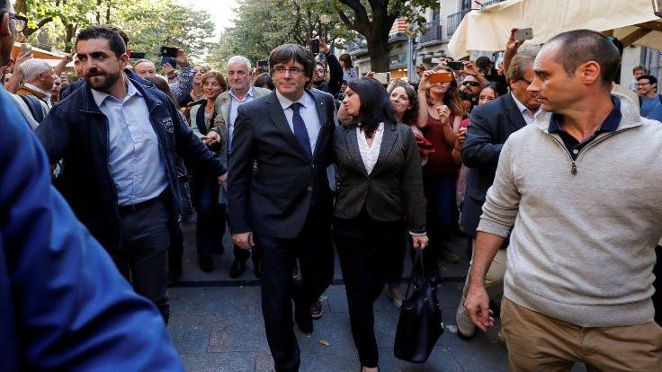Katalonya'dan İspanya'ya rest