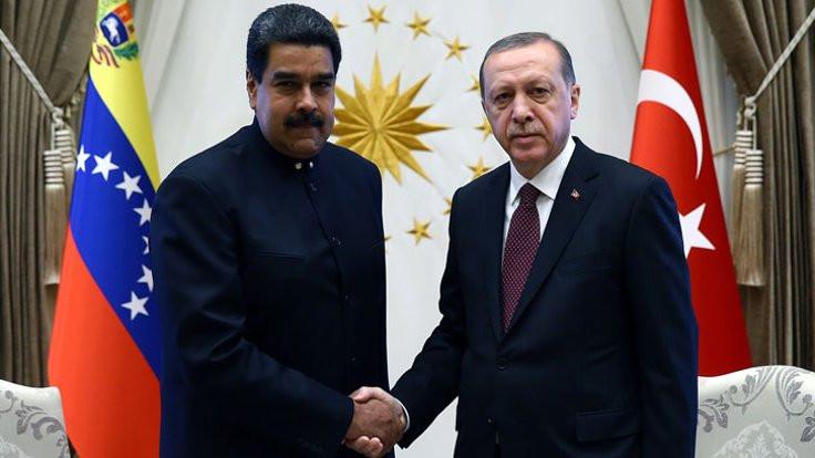 Maduro, 'geçerken uğradım' dedi…