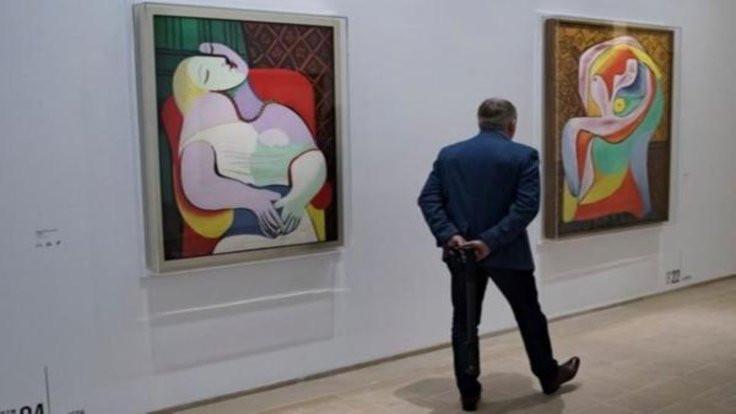 Picasso'nun 'erotik yılı'