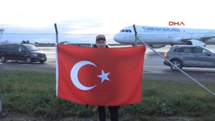 Türkiye Milli Takımı'nı 1 kişi karşıladı