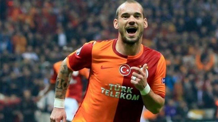 Galatasaray'dan Sneijder'e teşekkür