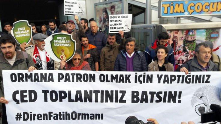 'Ormanımız iktidarın arka bahçesi değil'