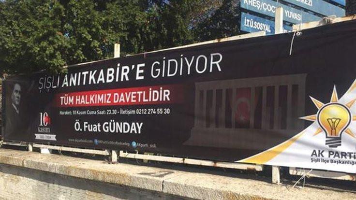 10 Kasım'da Anıtkabir'e AK Parti seferi