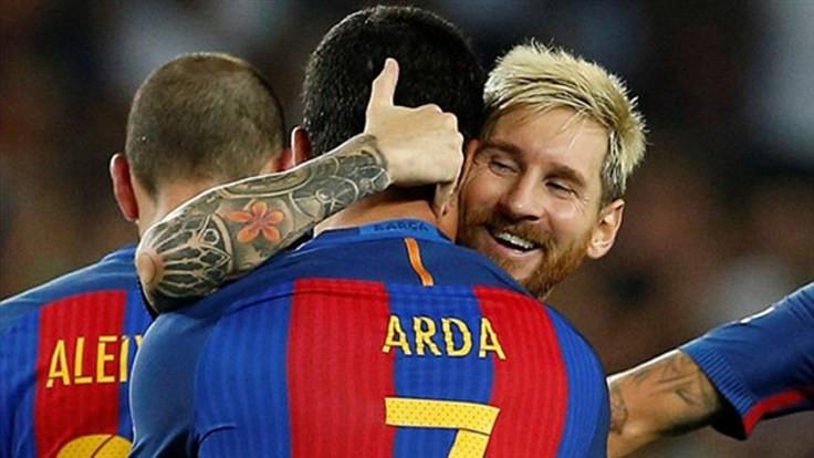 Messi: Arda şanssız bir dönem geçirdi