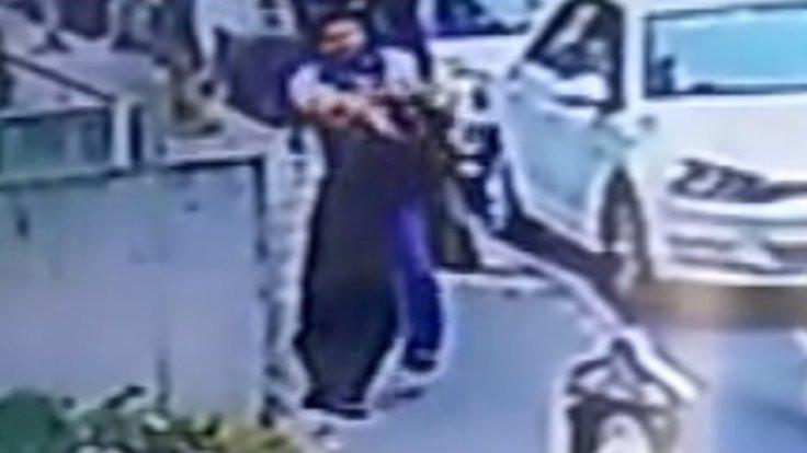 Yolda kadına yumruk atan saldırgan serbest