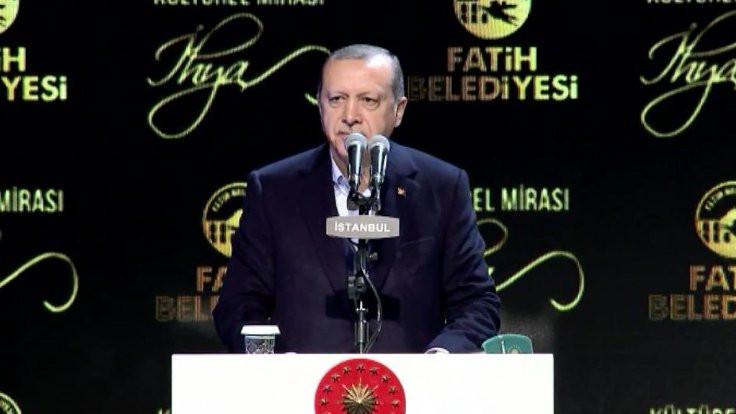 Erdoğan: Kendimize yol çizme imkanımız olmadı