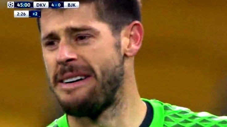 Emrullah'tan önce Fabri de ağlamıştı...