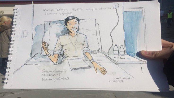 Nuriye Gülmen'e hapis cezası ve tahliye