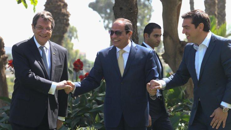 Mısır, Kıbrıs ve Yunanistan'dan enerji ittifakı
