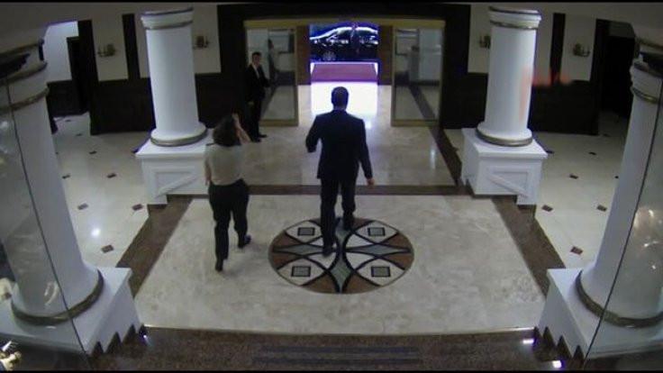 Fidan'ın karargahtan ayrılışı kamerada