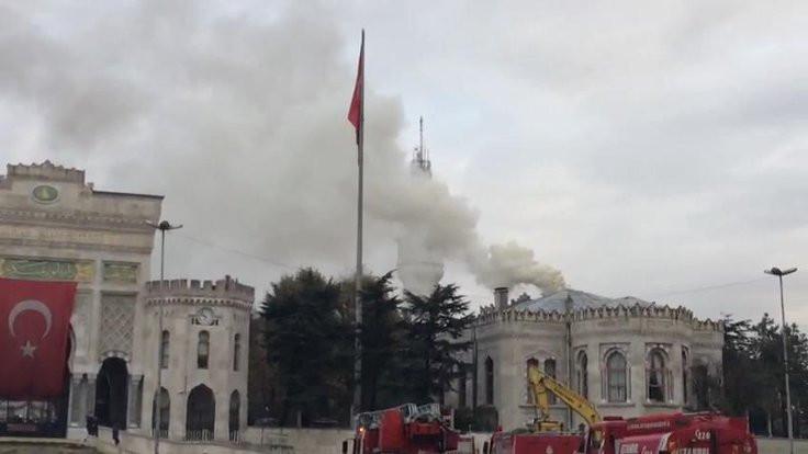 İstanbul Üniversitesi'nde yangın paniği