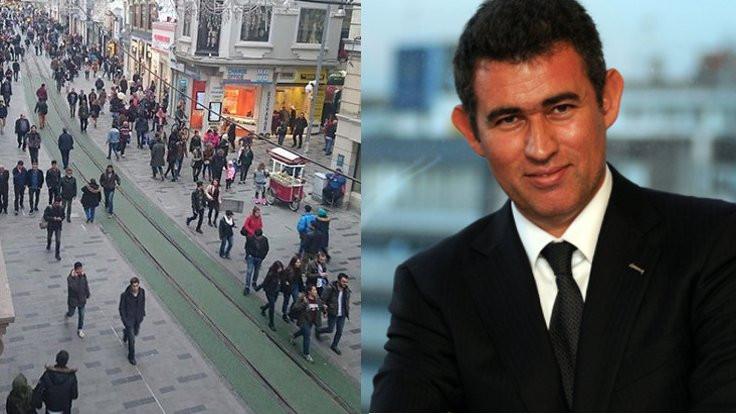 Tramvay yoluna döşenen kauçuk ve Metin Feyzioğlu