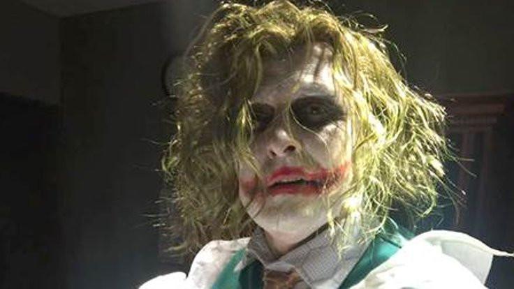 Doğar doğmaz ilk Joker'i gördü!