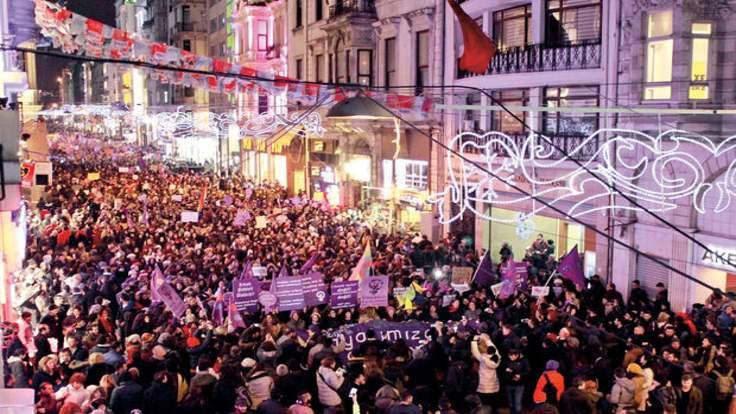 İstanbul Kadın Meclisi 'kadın meclisi gelecek, şiddet bitecek' çağrısıyla buluşuyor