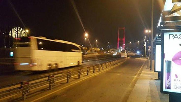 Köprüden kaçak geçiş