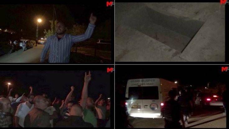 Tuğluk'un cenazesine saldırının görüntüleri