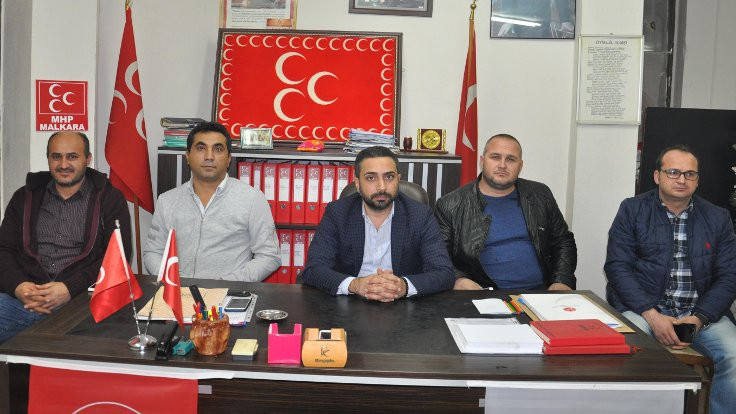 MHP Malkara'da 18 kişi istifa etti