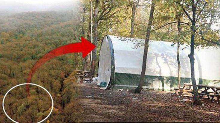 Belgrad Ormanı'nda kumar çadırı