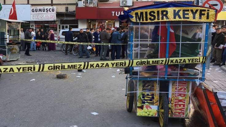 Seyyar satıcıların yer cinayeti