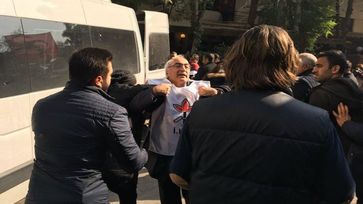 İHD Başkanı Türkdoğan gözaltına alındı